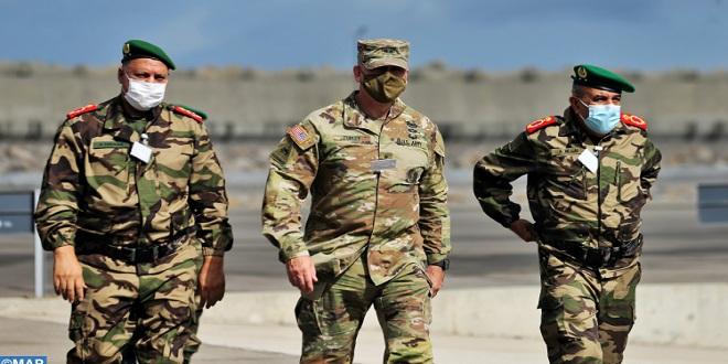 تمرين مشترك في الإغاثة والإنقاذ بين القوات المسلحة الملكية والحرس الوطني الأمريكي