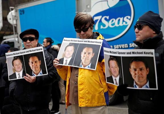 ترودو يؤكد إطلاق سراح كنديين كانا محتجزين بالصين
