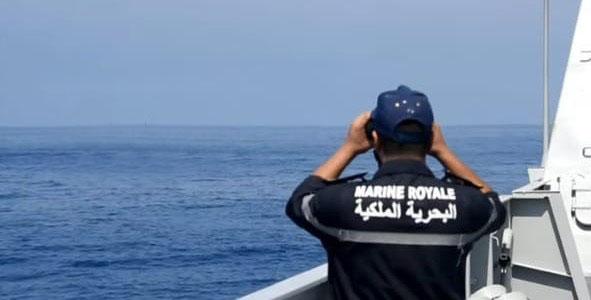 البحرية الملكية تحجز 3 أطنان من المخدرات عرض ساحل طنجة