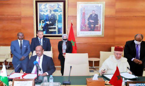 المغرب/ جيبوتي.. توقيع اتفاق لتوثيق أواصر التعاون في المجالات ذات الصلة بالشأن الديني