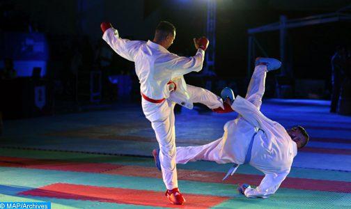 مشاركة المنتخب الوطني المغربي للكراطي في بطولة البحر الأبيض المتوسط بقبرص
