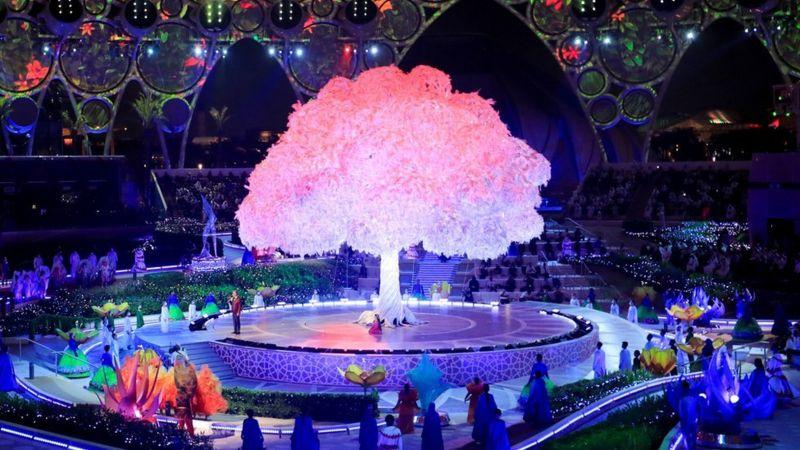 إكسبو دبي: افتتاح المعرض العالمي الذي تأخر بسبب فيروس كورونا
