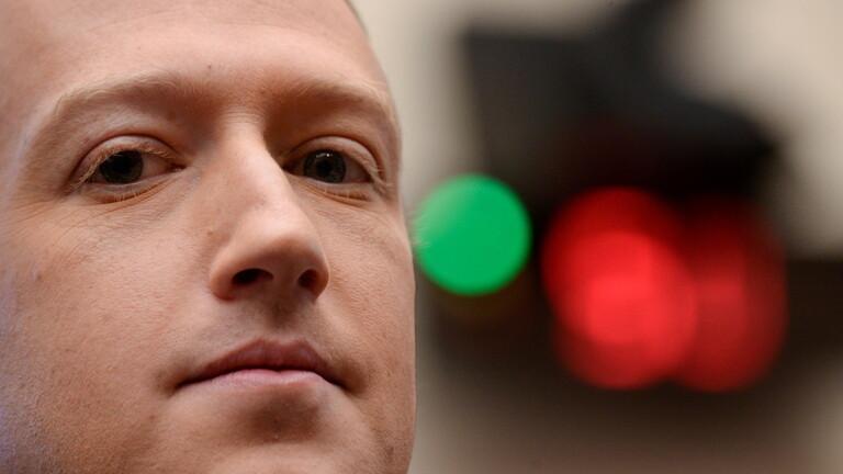 """زوكربرغ يخسر حوالي 7 مليارات دولار جراء تعطل """"فيسبوك"""""""