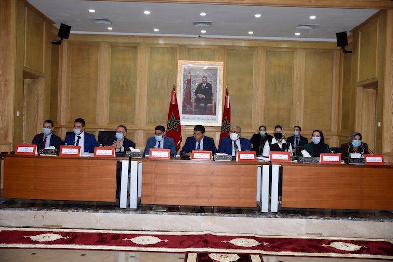 مجلس جهة الشرق يصادق على ميزانية 2022